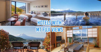 10 Hotels In Japan With Views Of Mount Fuji That Look Straight Out Of A Postcard