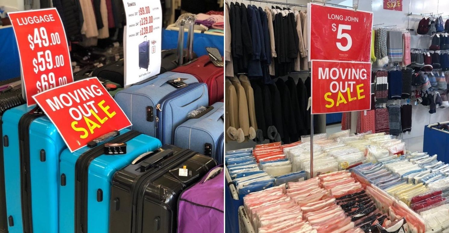Winter Time MacPherson moving out sale