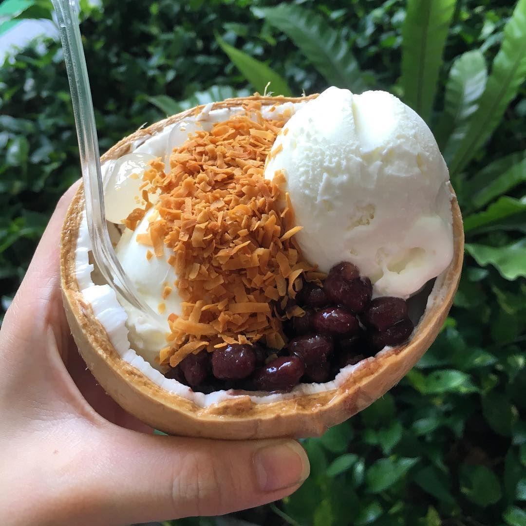 Free Thai coconut ice cream Koko