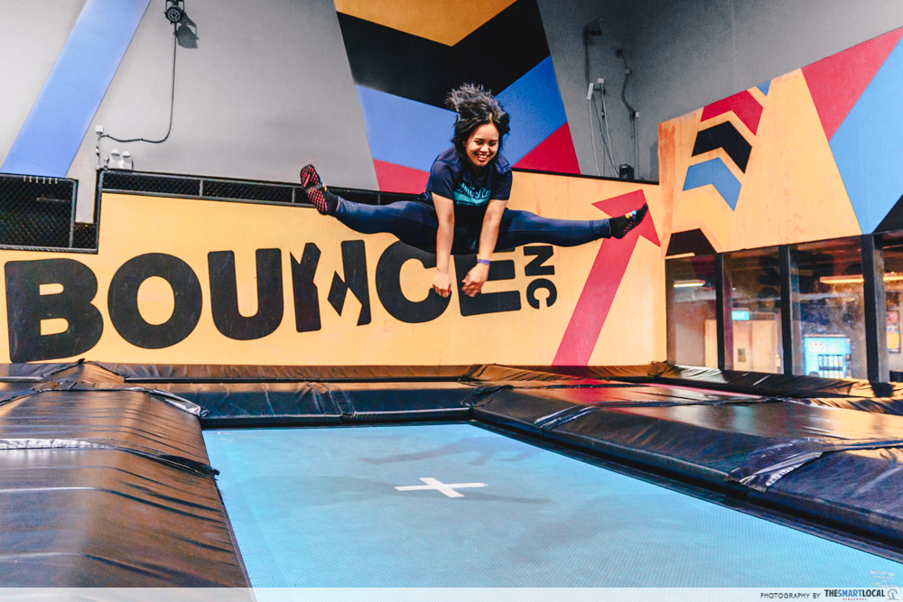 Bounce Singapore Straddle Jump