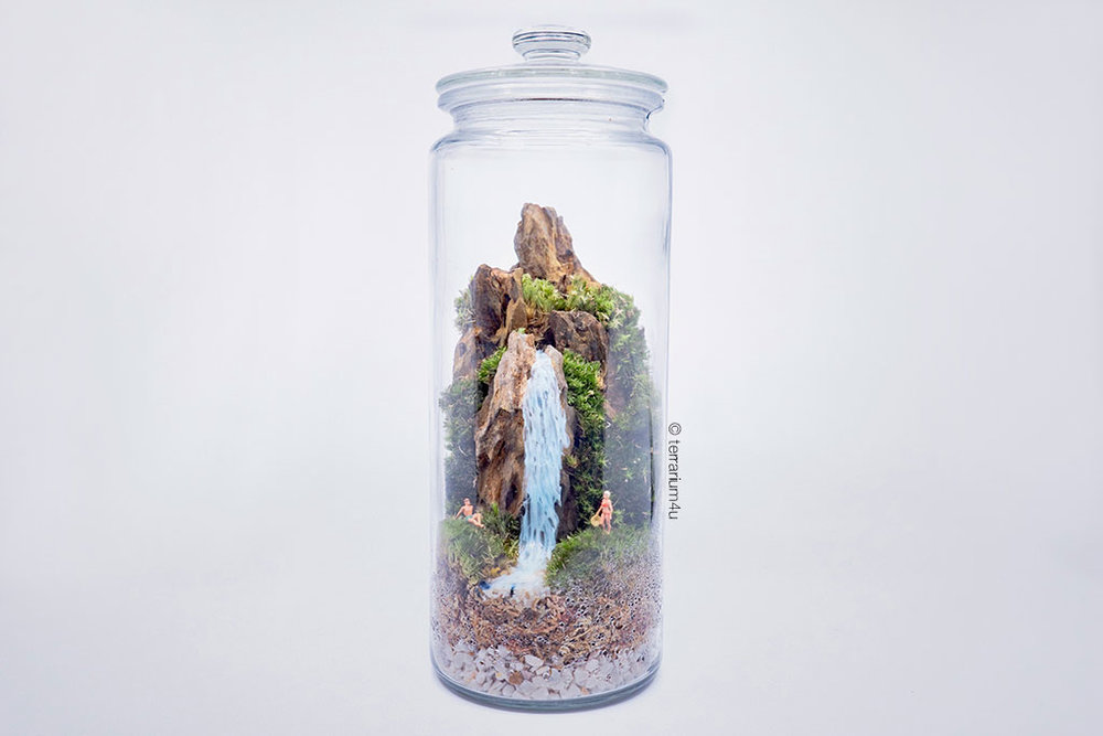 Cheap Terrariums Terrarium4u The Waterfall