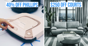 Furniture and electronics deals in Singapore
