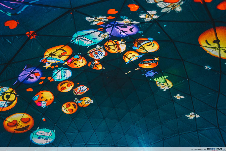Project dome Singapore night festival