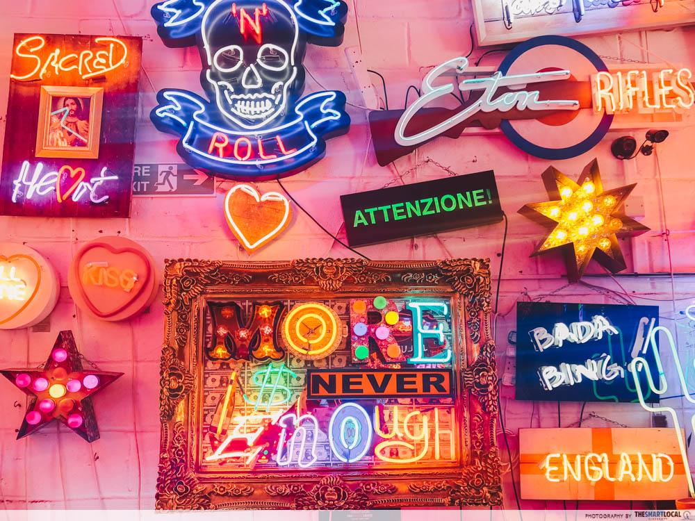 God's Own Junkyard - neon signs