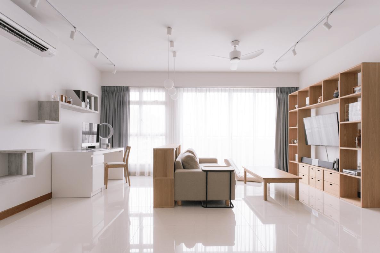 HDB Colour Scheme Pantone Interior Design Muji Minimalism