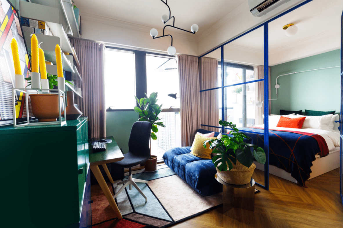 HDB Colour Scheme Pantone Interior Design Eclectic
