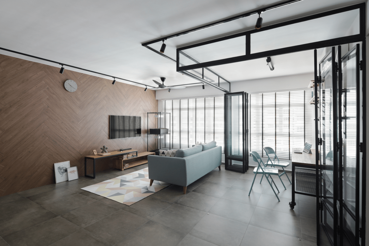 HDB Colour Scheme Pantone Interior Design Industrial Chic