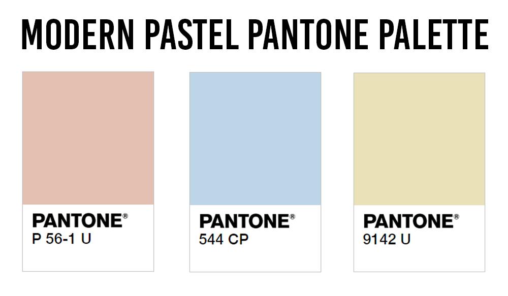 HDB Colour Scheme Pantone Interior Design Modern Pastel Palette