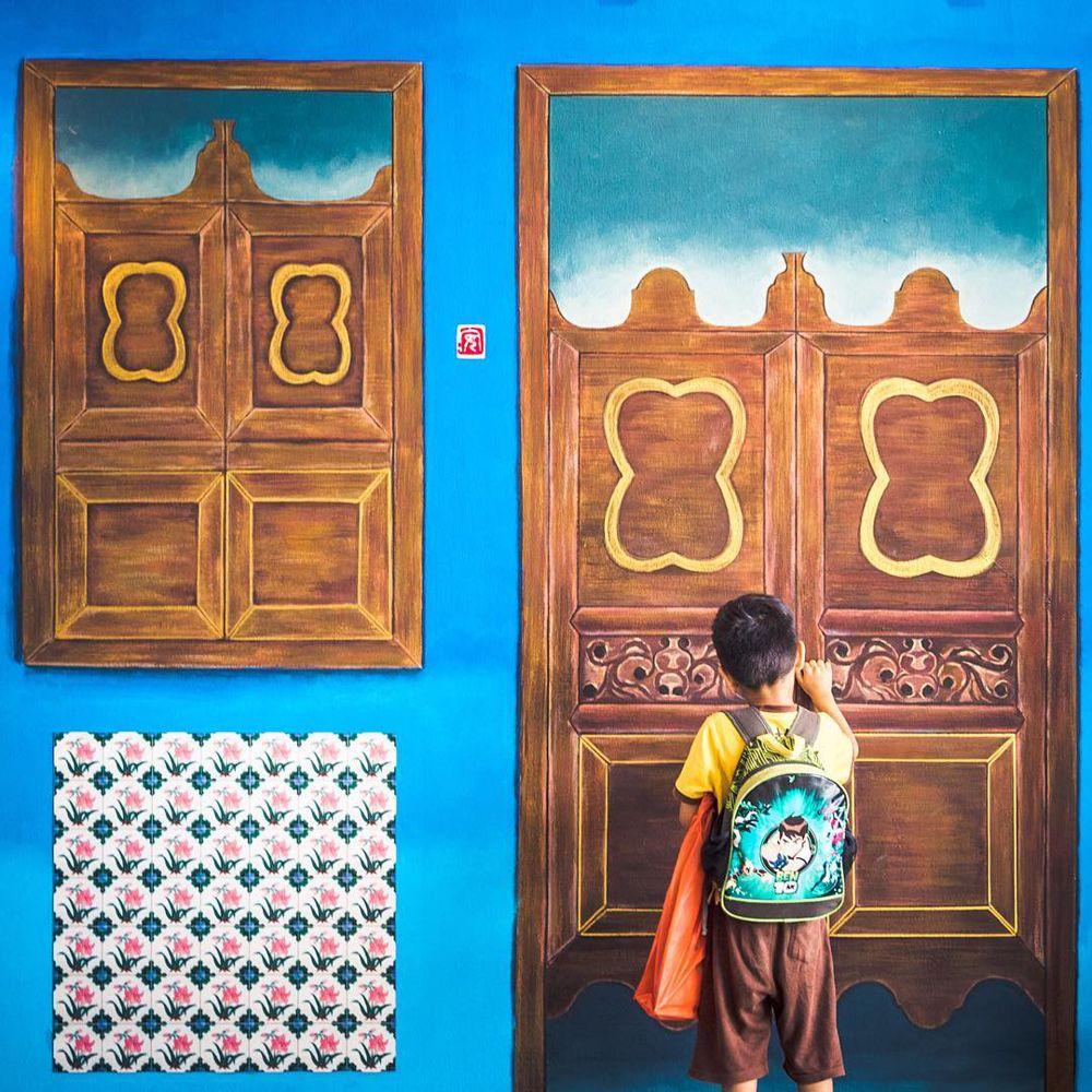 Instawalk Tampines Pre Pub Heritage Wall Mural