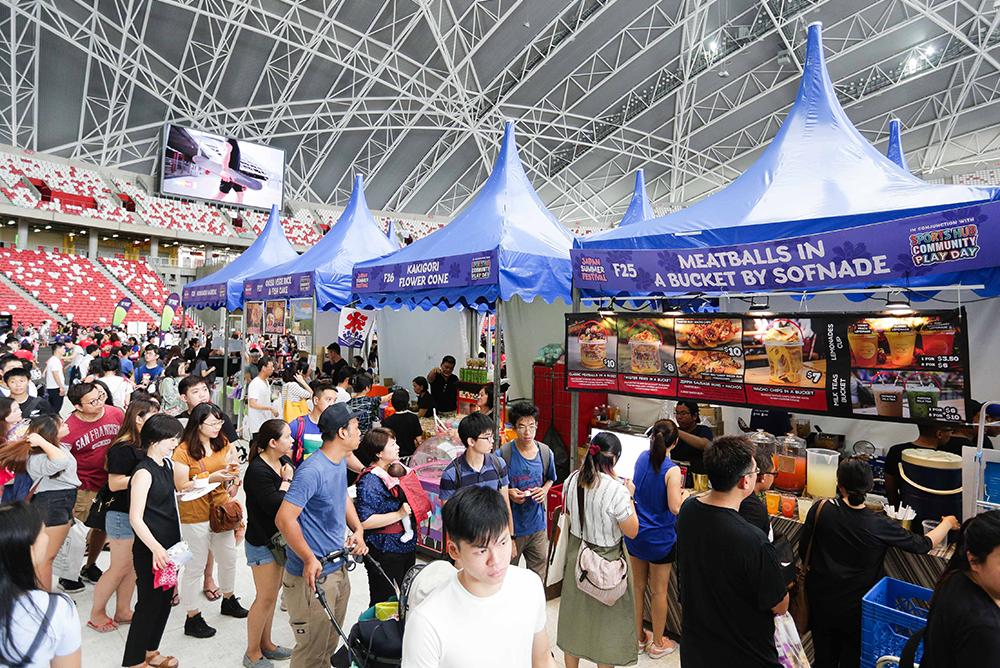 Japan Summer Festival 2019 - f&b stalls