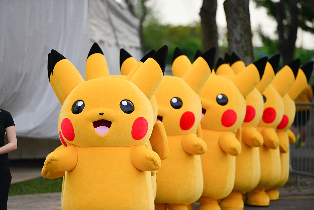 Japan Summer Festival 2019 - pikachu dance parade