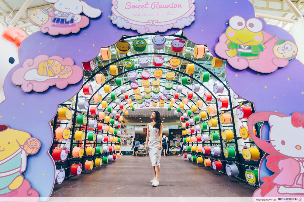Jurong Point Sanrio Lantern Tunnel