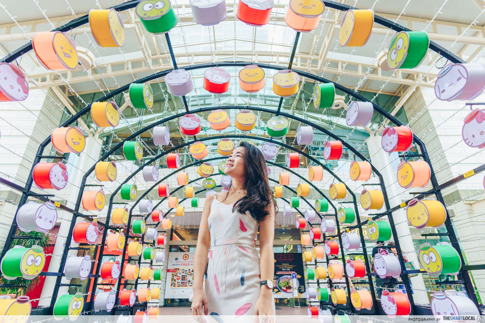 Jurong Point Sanrio Lantern Tunnel
