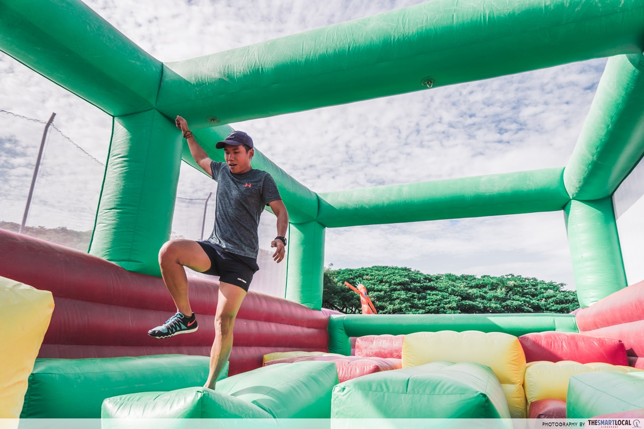 SAFRA obstacle course