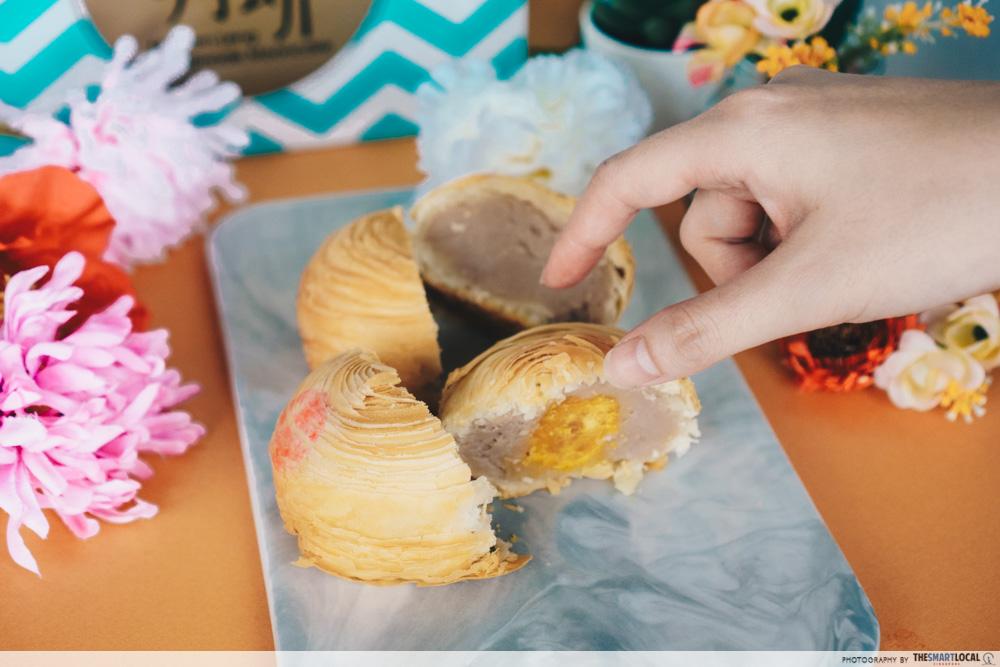 Putien mooncakes - yam
