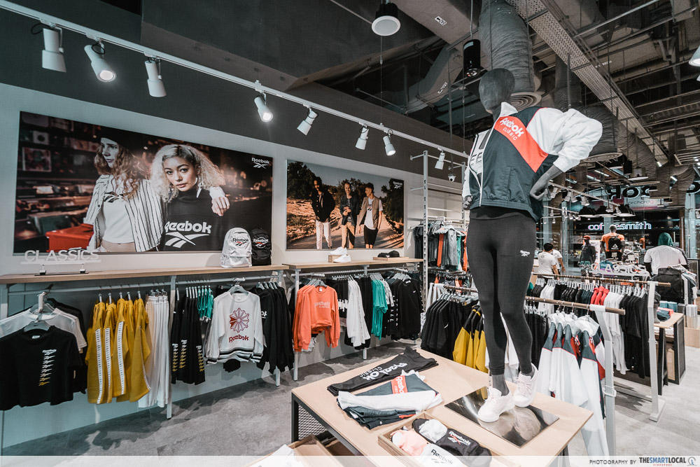 quality first outlet for sale enjoy big discount Reebok Opens A New Flagship Store At Orchard Central With ...