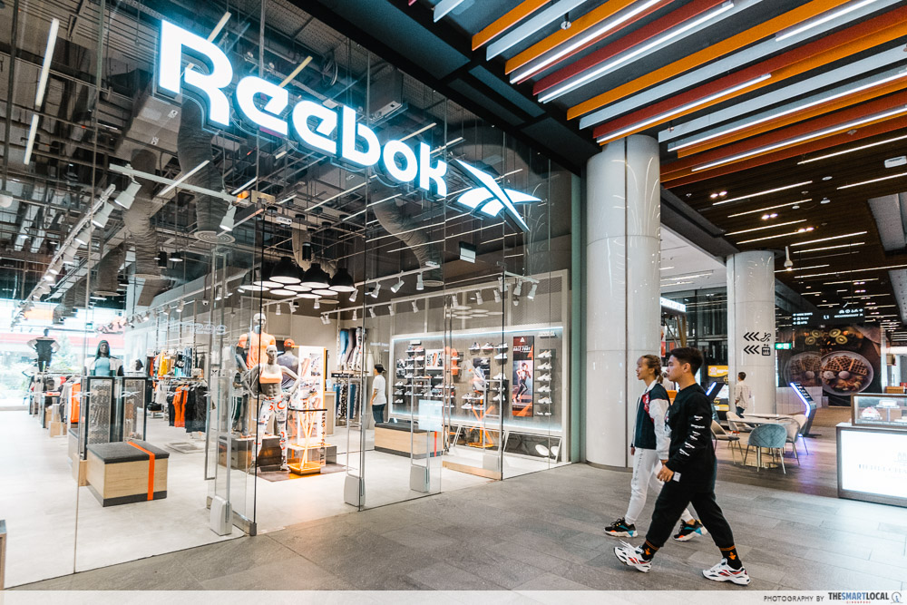 Reebok Opens A New Flagship At