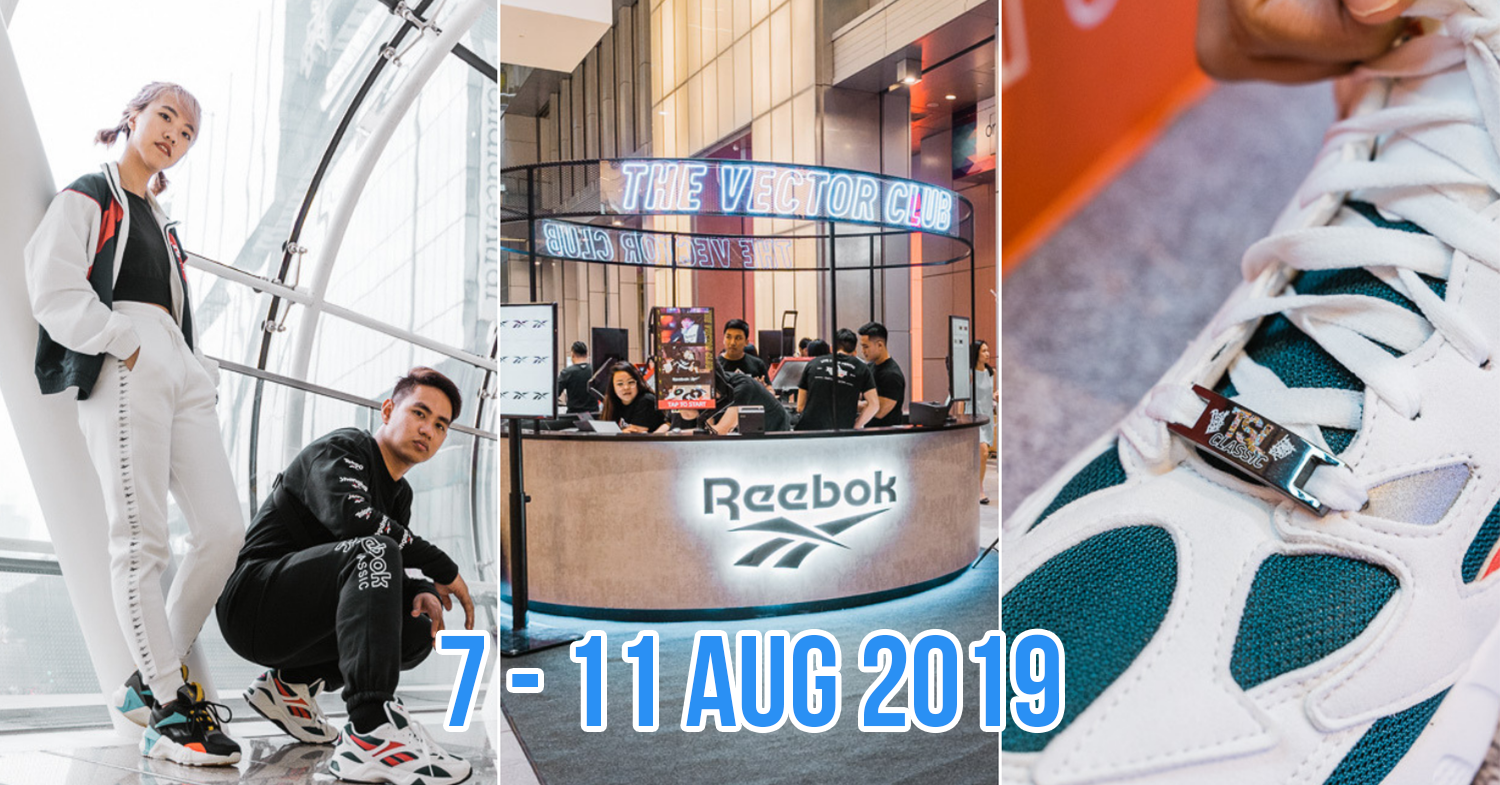 bda32a444b Reebok Opens A New Flagship Store At Orchard Central With Classics ...