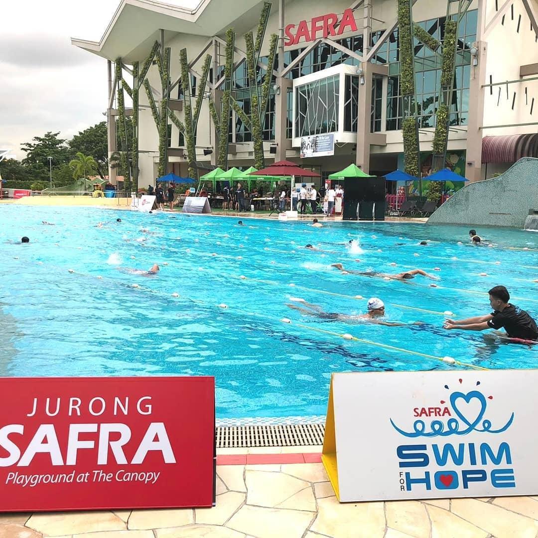 SAFRA Swim For Hope 2019 Donations Charity Jurong