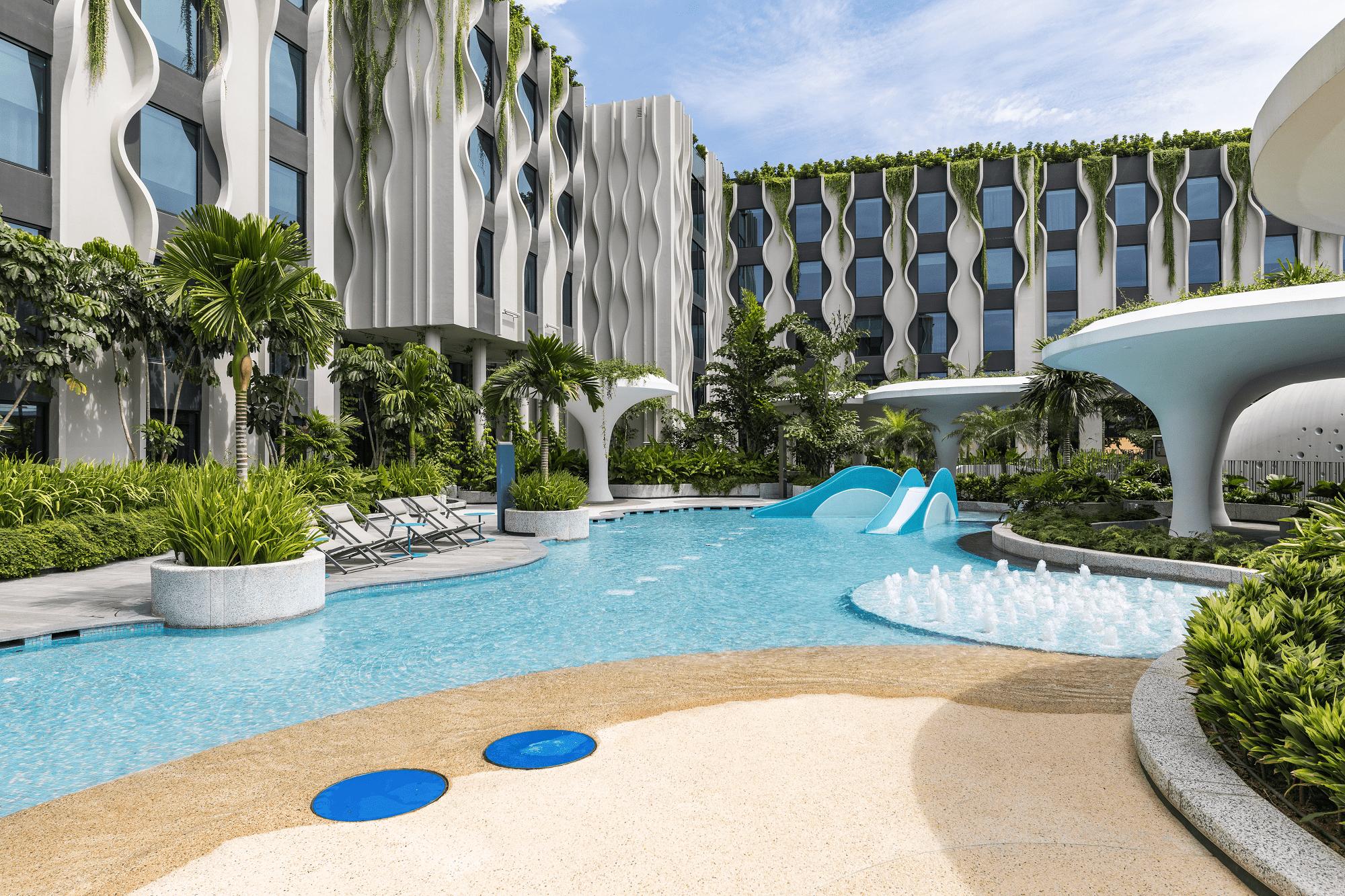 Sentosa Hotels Singapore Staycation Village Pool