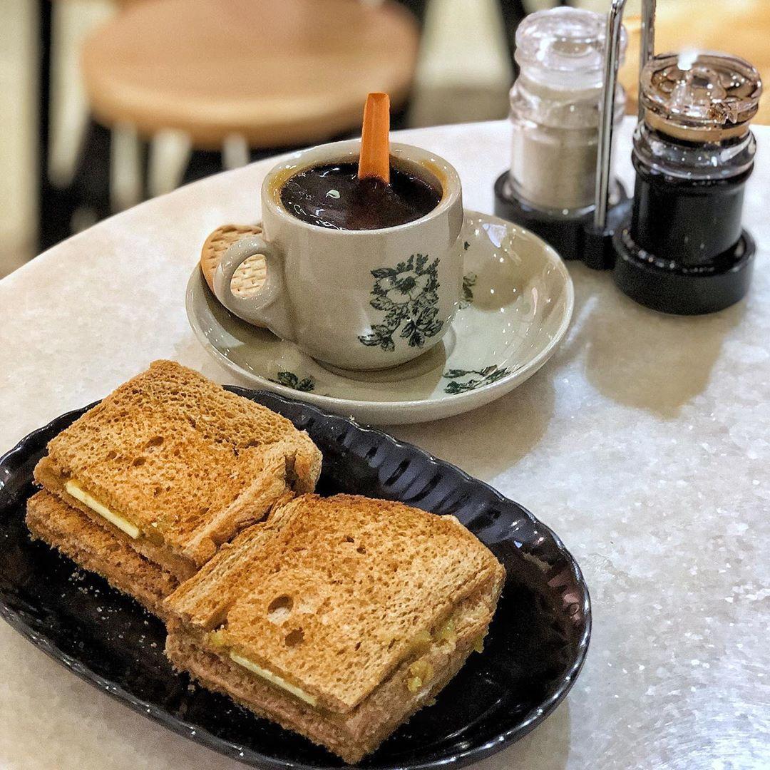 1-for-1 coffee or tea Heavenly Wang