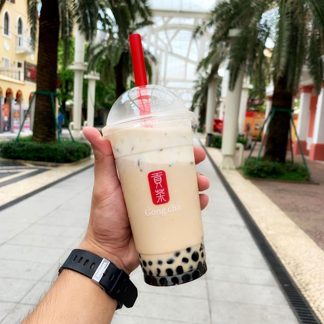 Free gong cha National Gallery