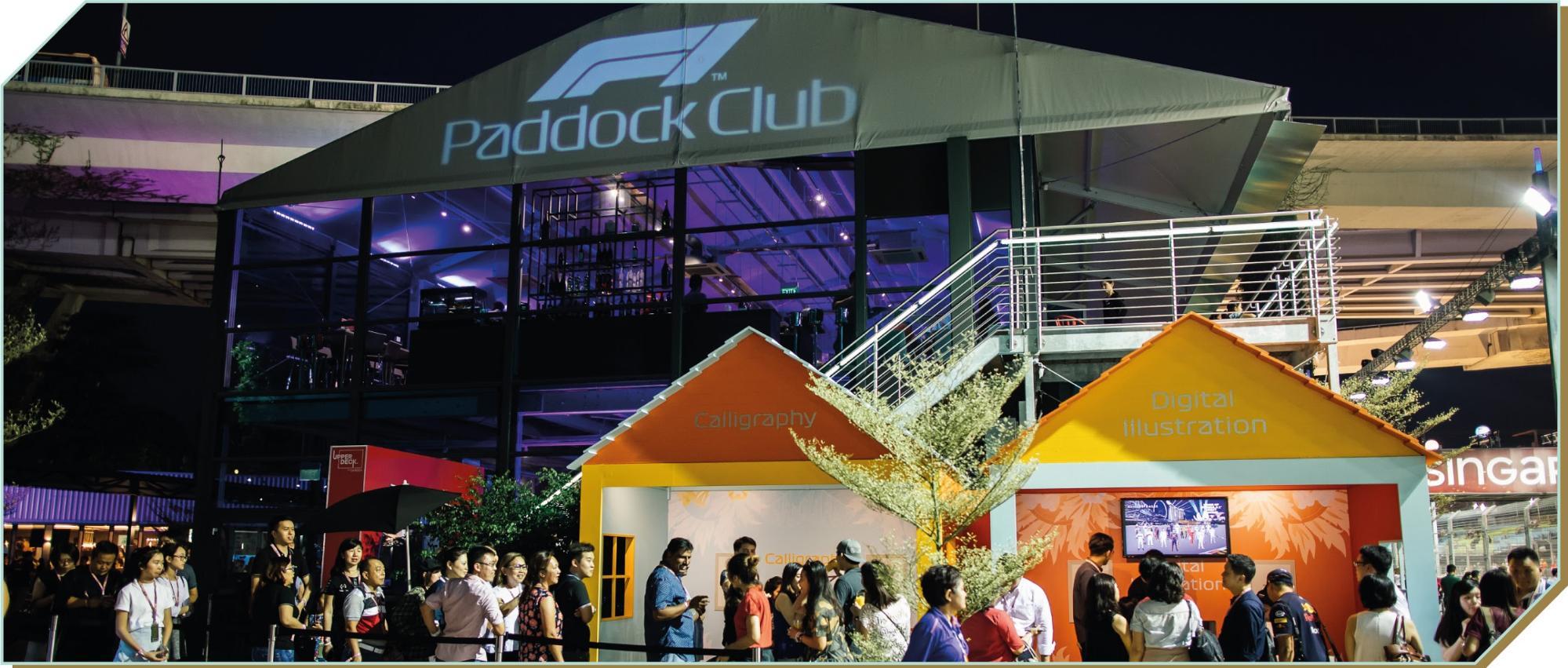 Singapore Grand Prix 2019 - Paddock Club