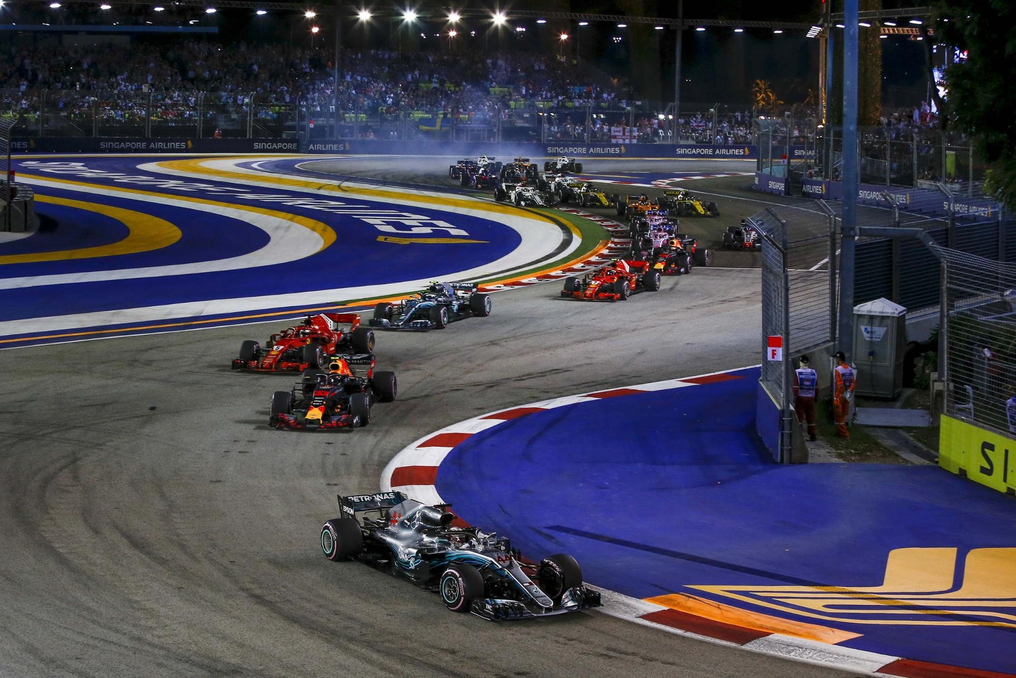 Singapore Grand Prix 2019 - race track