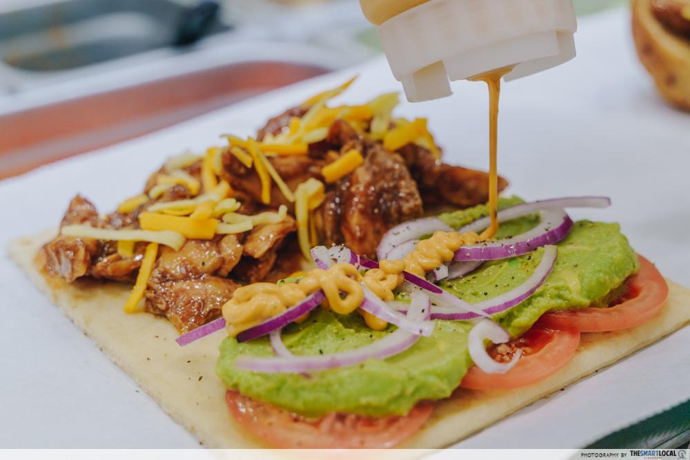 Subway Homestyle BBQ Chicken Singapore Avocado