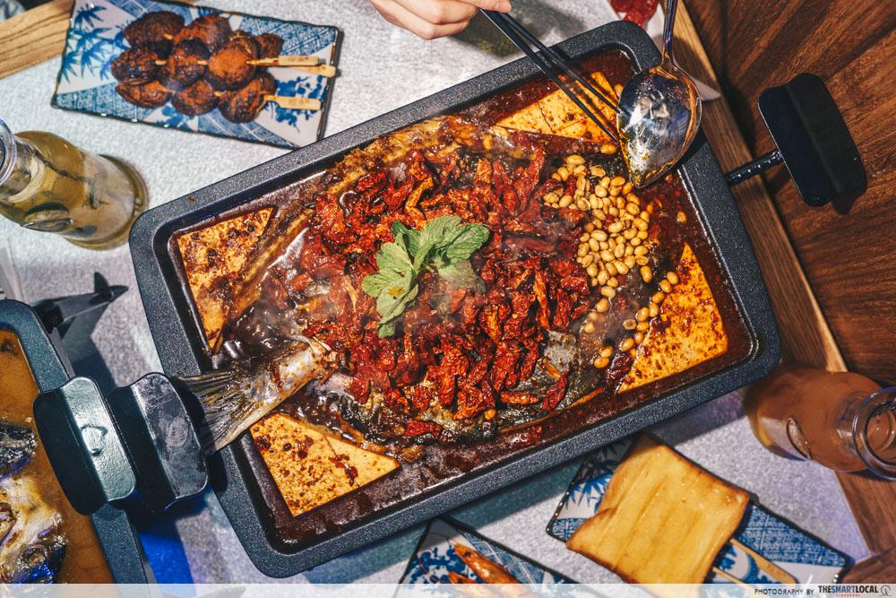 Tan Yu - Chongqing Bean Curd Grilled Fish