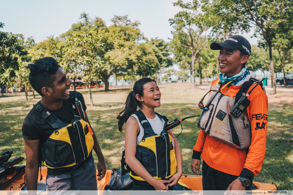 Unconventional Things To Do Singapore Kayak Fishing Guide