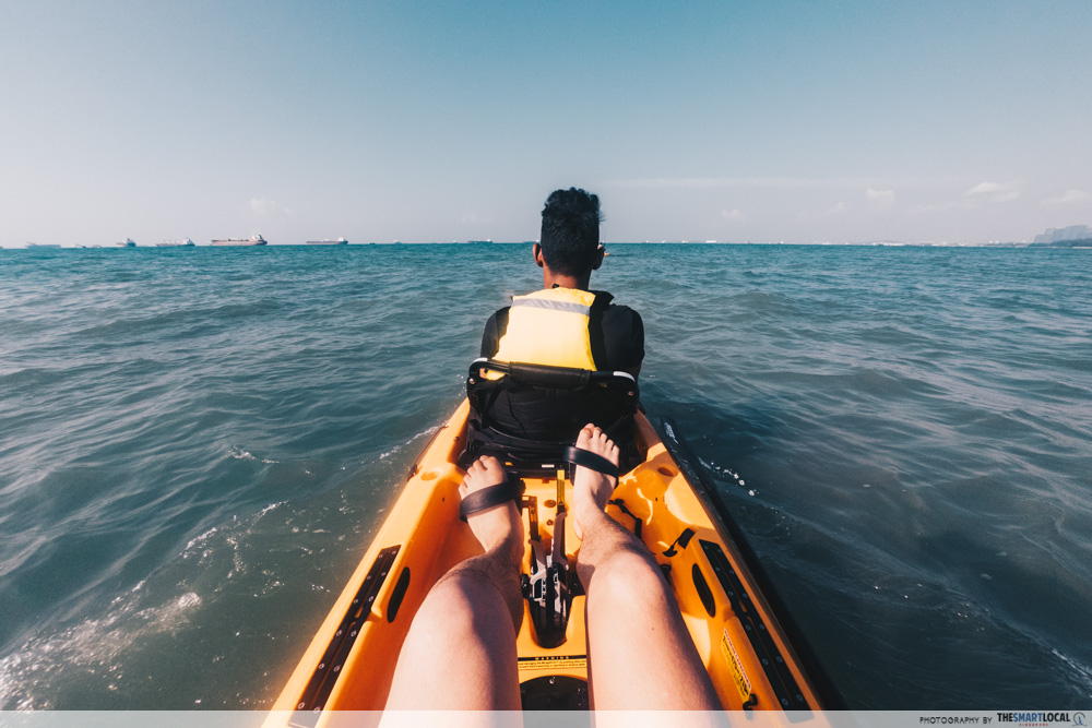 Unconventional Things To Do Singapore Pedal Kayak