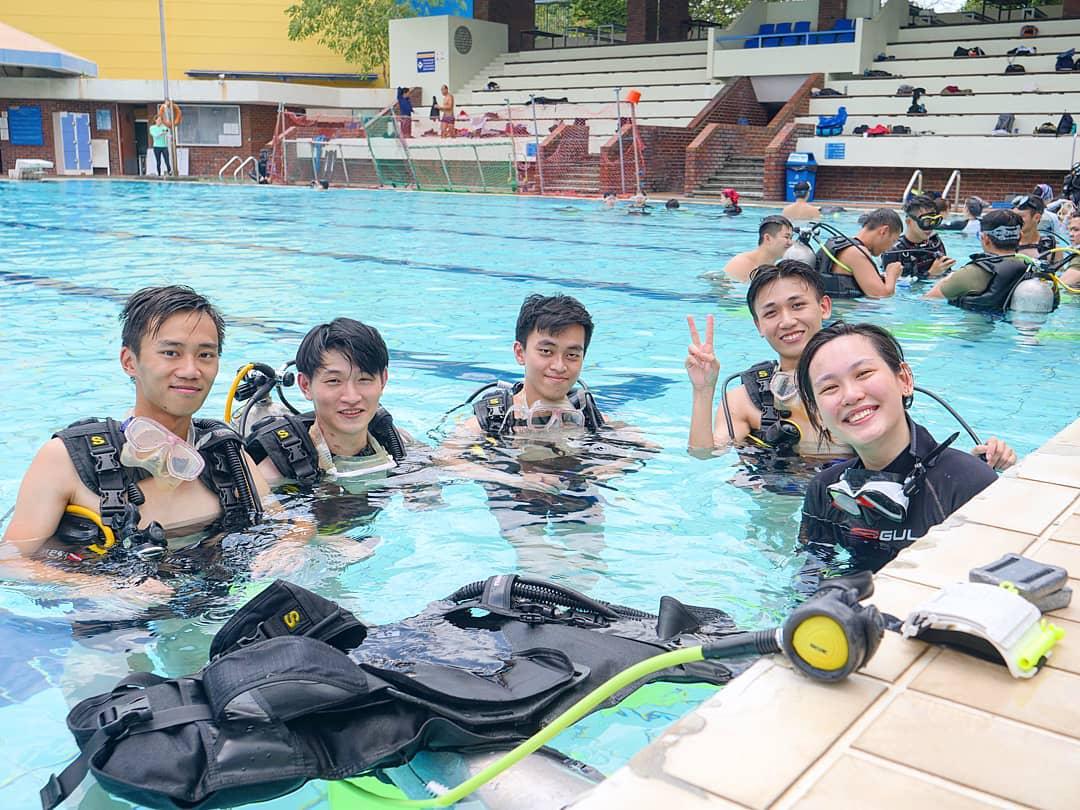 Unique CCAs SIT Scuba Diving