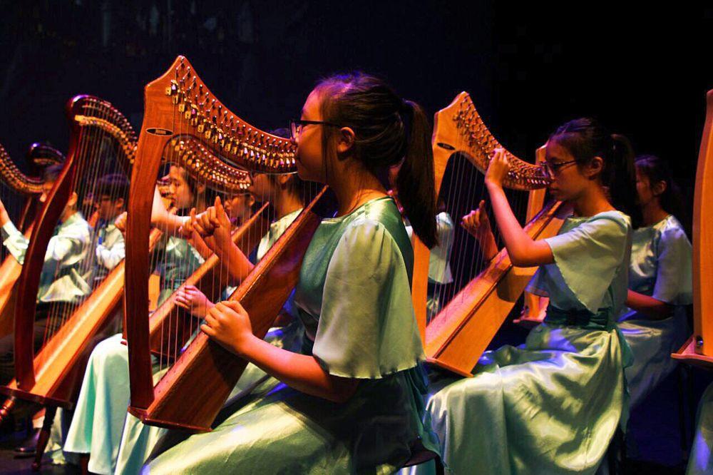 Unique CCAs Harp Ensemble