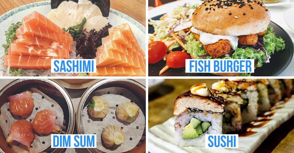 Vegan seafood in Singapore