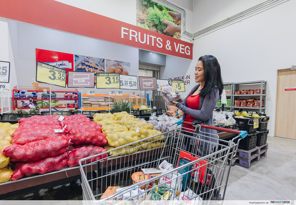 Warehouse Club National Day Open House 2019 Fresh Produce Groceries