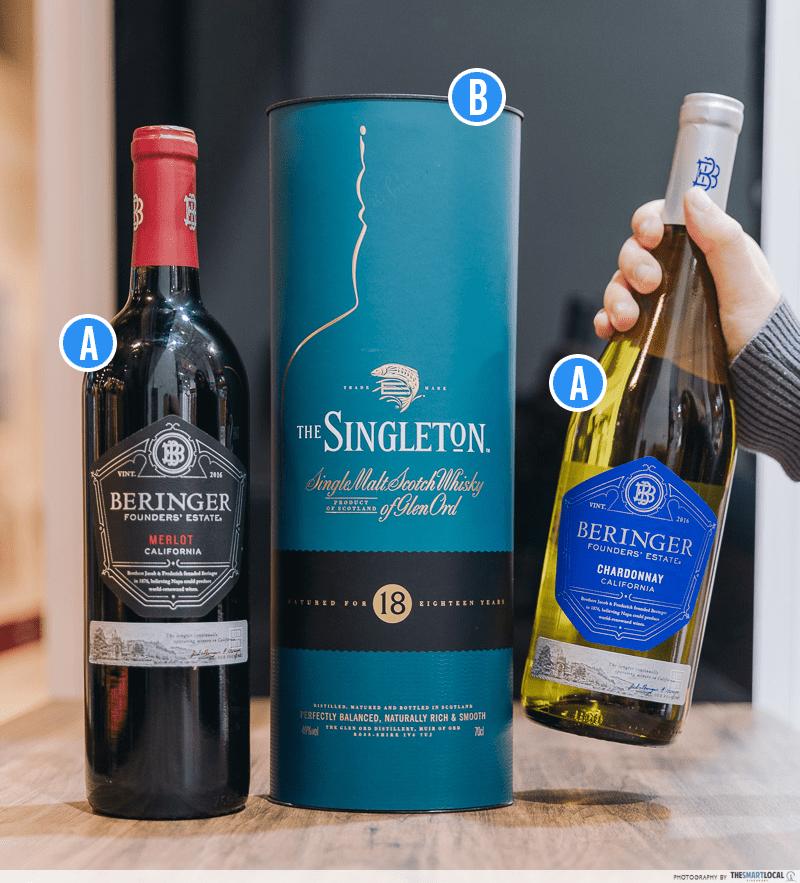 Warehouse Club National Day Open House 2019 Beringers Wine Singleton Malt Whisky