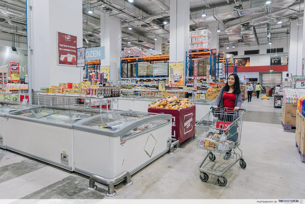 Warehouse Club National Day Open House 2019 Frozen Food