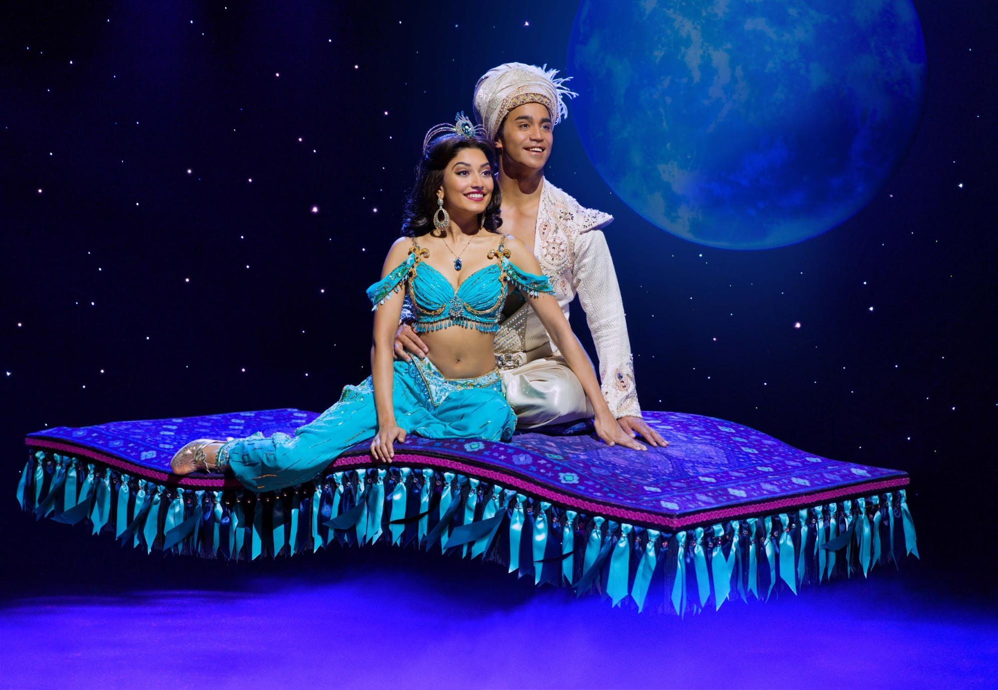 aladdin and jasmine carpet