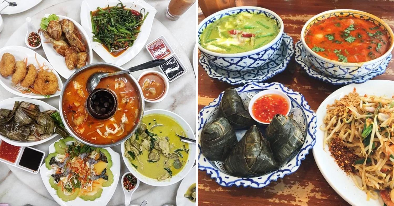 Authentic Thai Food Restaurants Singapore