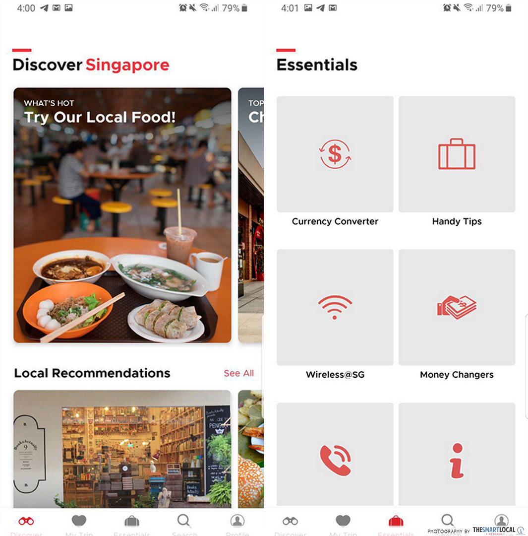 backpacking in singapore - singapore travel guide app