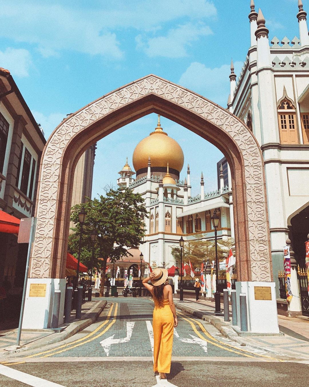 backpacking in singapore - masjid sultan