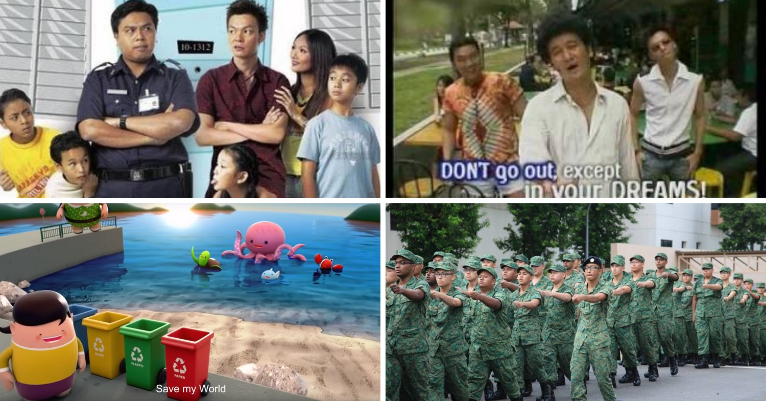 9 Catchy Singaporean Tunes That We Recall Without Even Having To Hear Them
