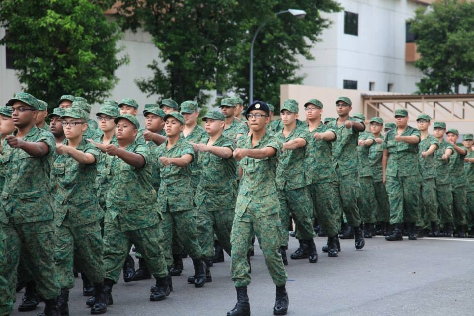 9 Catchy Singaporean Tunes That We Recall Without Even Having To Hear Them training to be soldiers