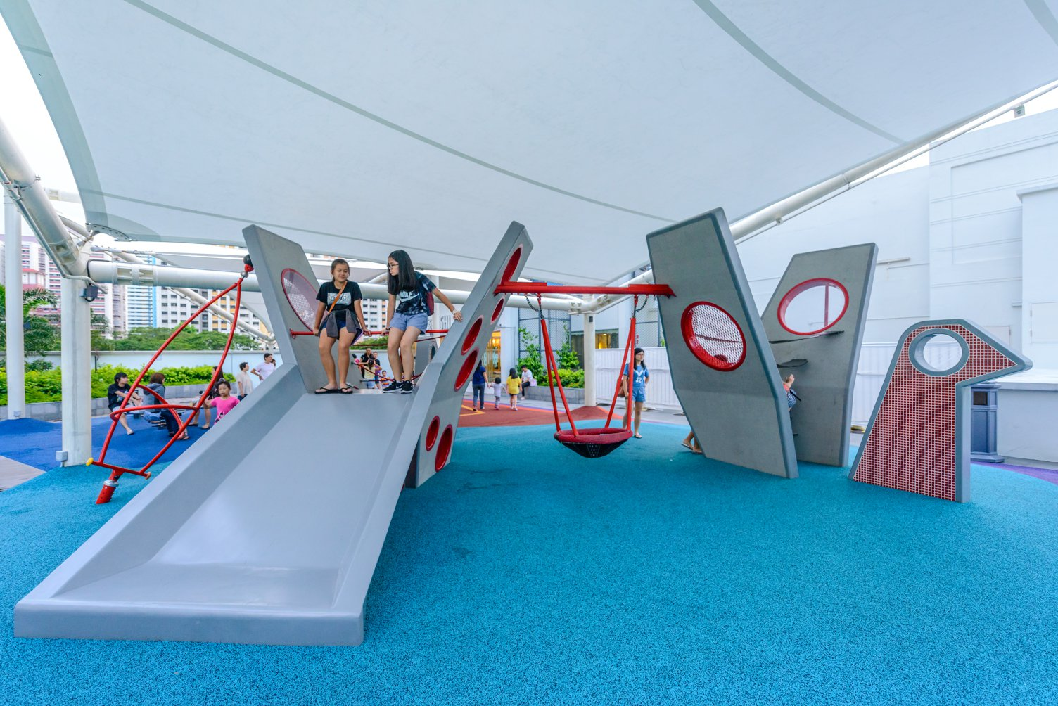 free playgrounds in mall - tiong bahru plaza mosaic playground