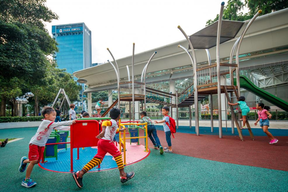free playgrounds in mall - city square mall outdoor playground