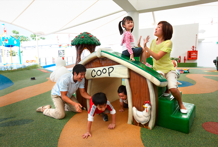 free playgrounds in mall - northpoint city playground farm house