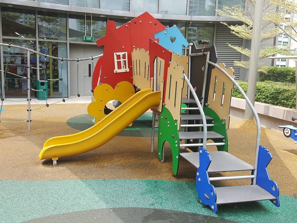 free playgrounds in mall - seletar mall outdoor playground