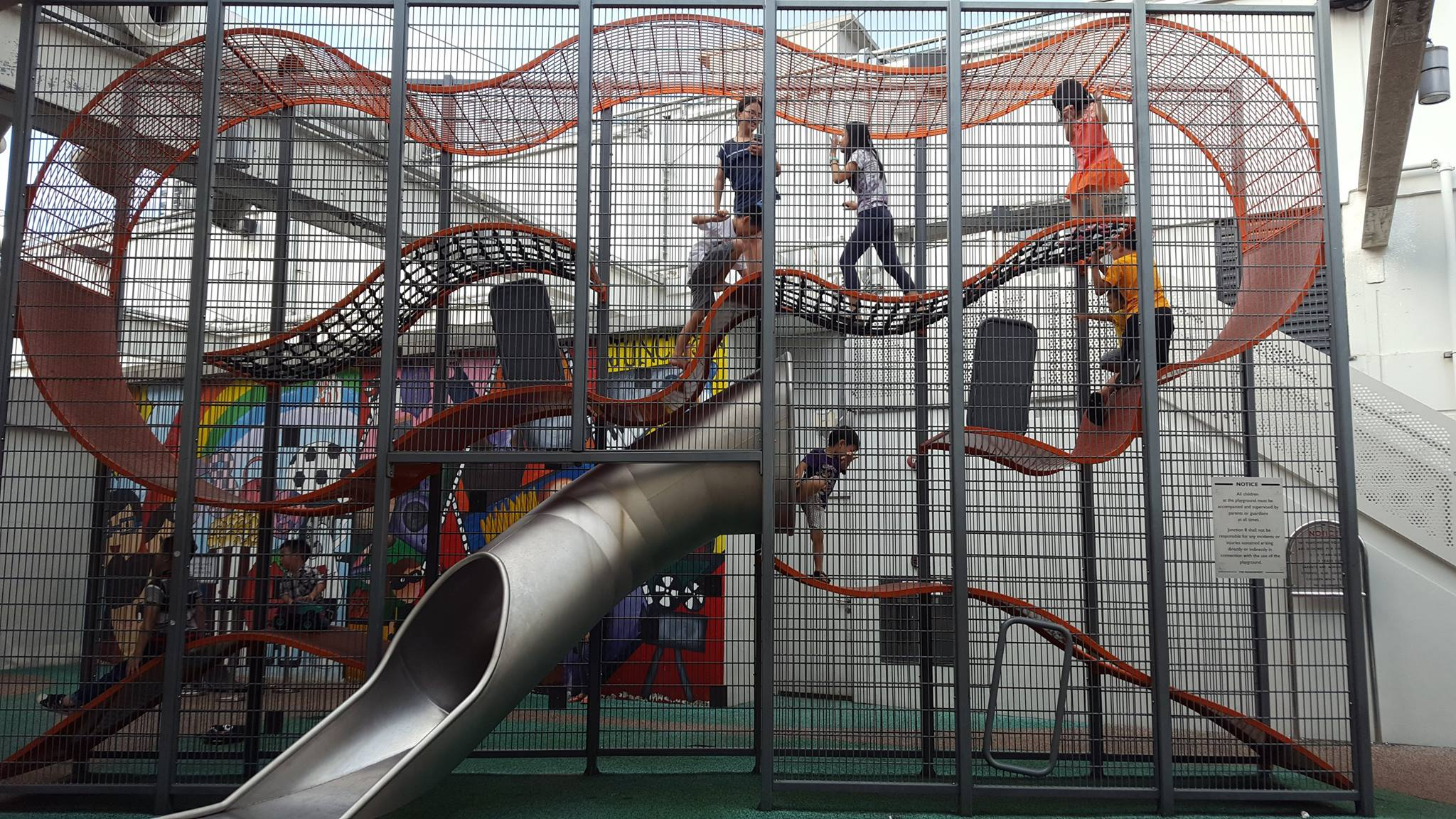free playgrounds in mall - junction 8 vertical playground