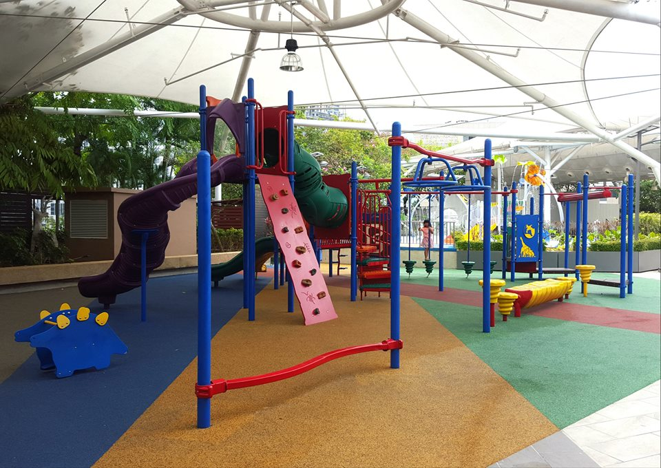 free playgrounds in mall - IMM garden plaza playground